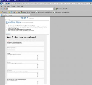Using google forms (a favourite topic of mine!)